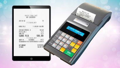 Paragony fiskalne - papierowe i elektroniczne